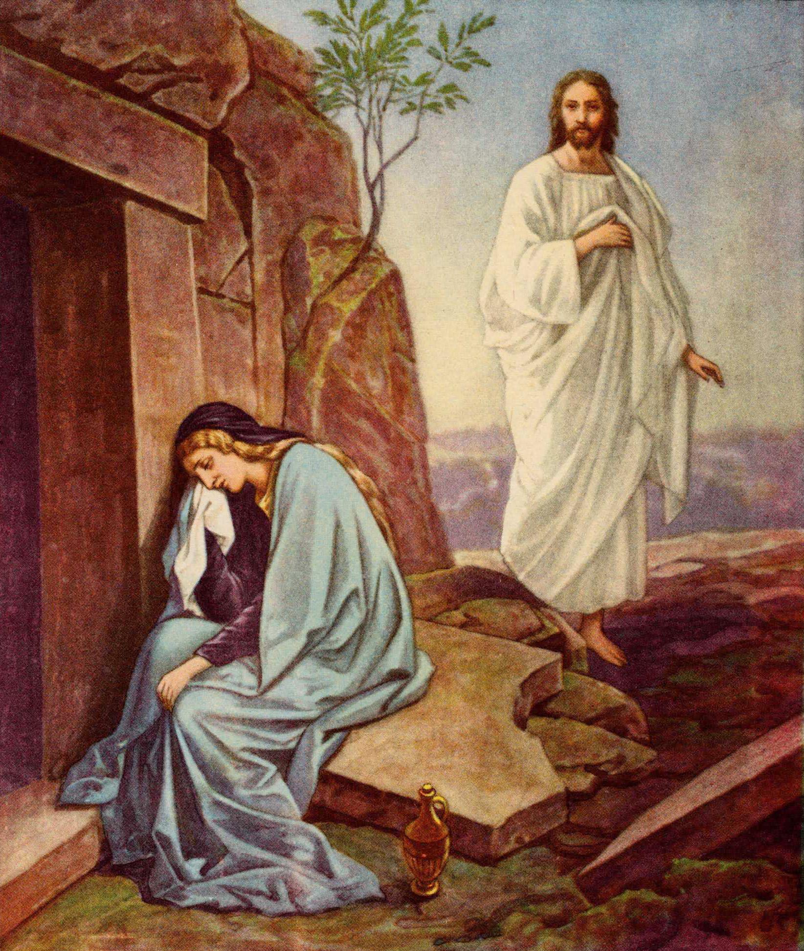 Resultado de imagem para João 20,11-18